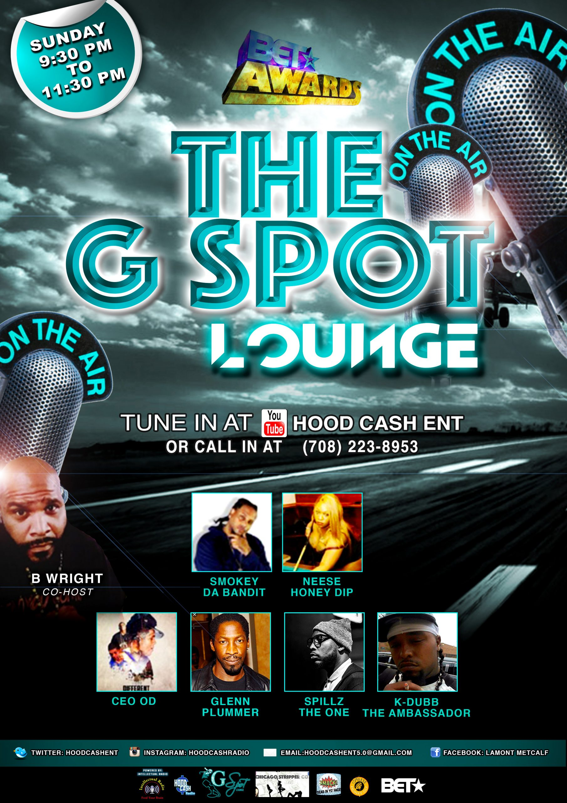 The G Spot Lounge Radio Show: Episode 43